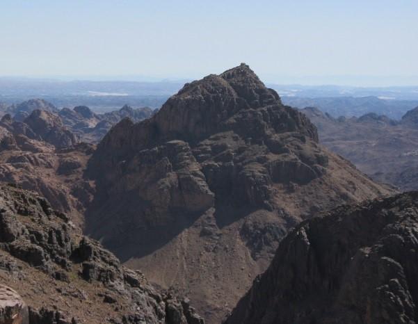 Sinai/Moseberg vom Katharinenberg aus
