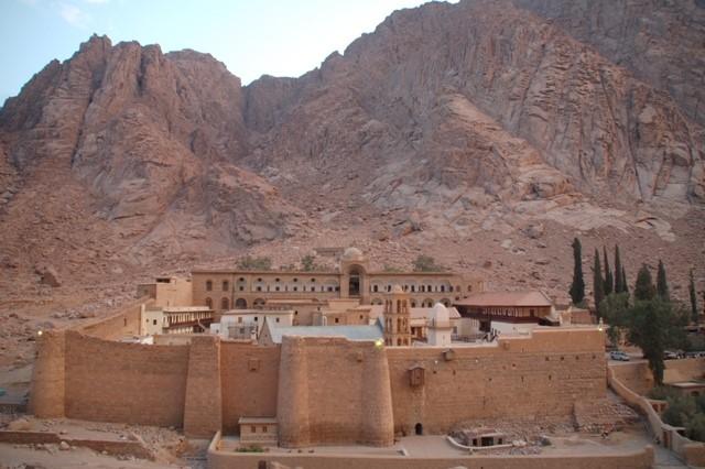 Katharinenkloster am Fuß des Sinai/Moseberg