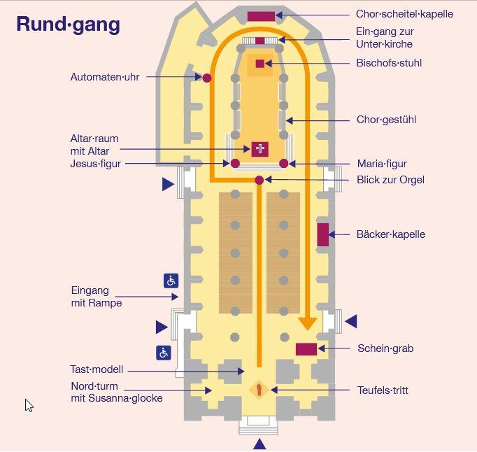 Rundgang im Münchner Liebfrauendom