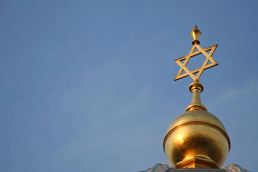 Davidstern auf Kuppel der Neuen Synagoge in Berlin
