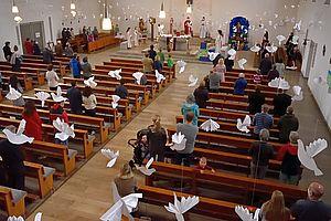 Gottesdienst am Pfingstsonntag 4