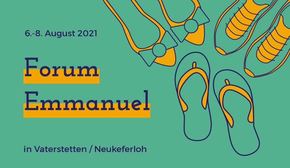 Besondere Umstände machen auch das Forum besonders: Sommer, Gemeinschaft und abwechslungsreiches Programm gibt's in diesem Jahr ganz in deiner Nähe!<br/><br/>Besser gemeinsam ● Lebe jetzt ● Dankbar voran