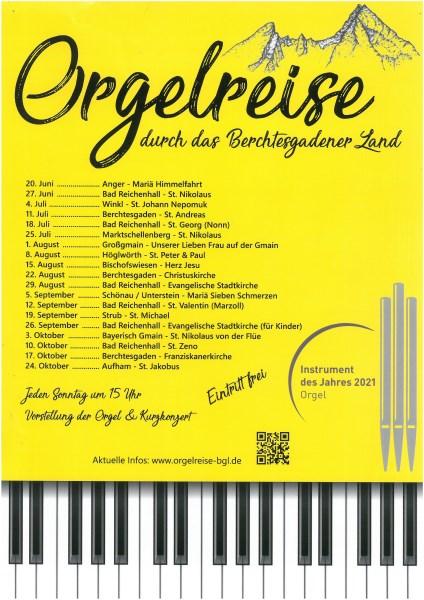 Orgelreise BGL