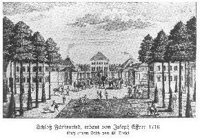 Alte Aufnahme Schloss Fürstenried