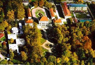 Luftbild Schloss Fürstenried