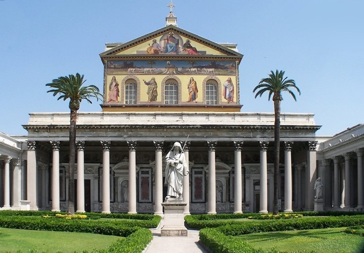Basilika St. Paul vor den Mauern in Rom