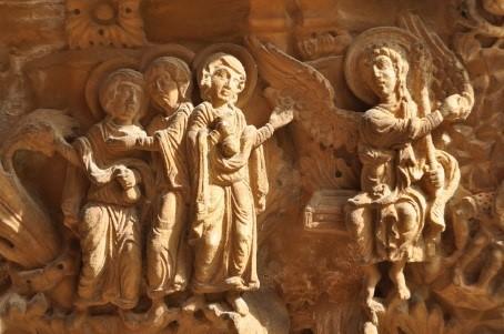 Die drei Frauen am Grab, Monreale (Sizilien) Kreuzgang