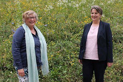Monika Mehringer und Barbara Jaud