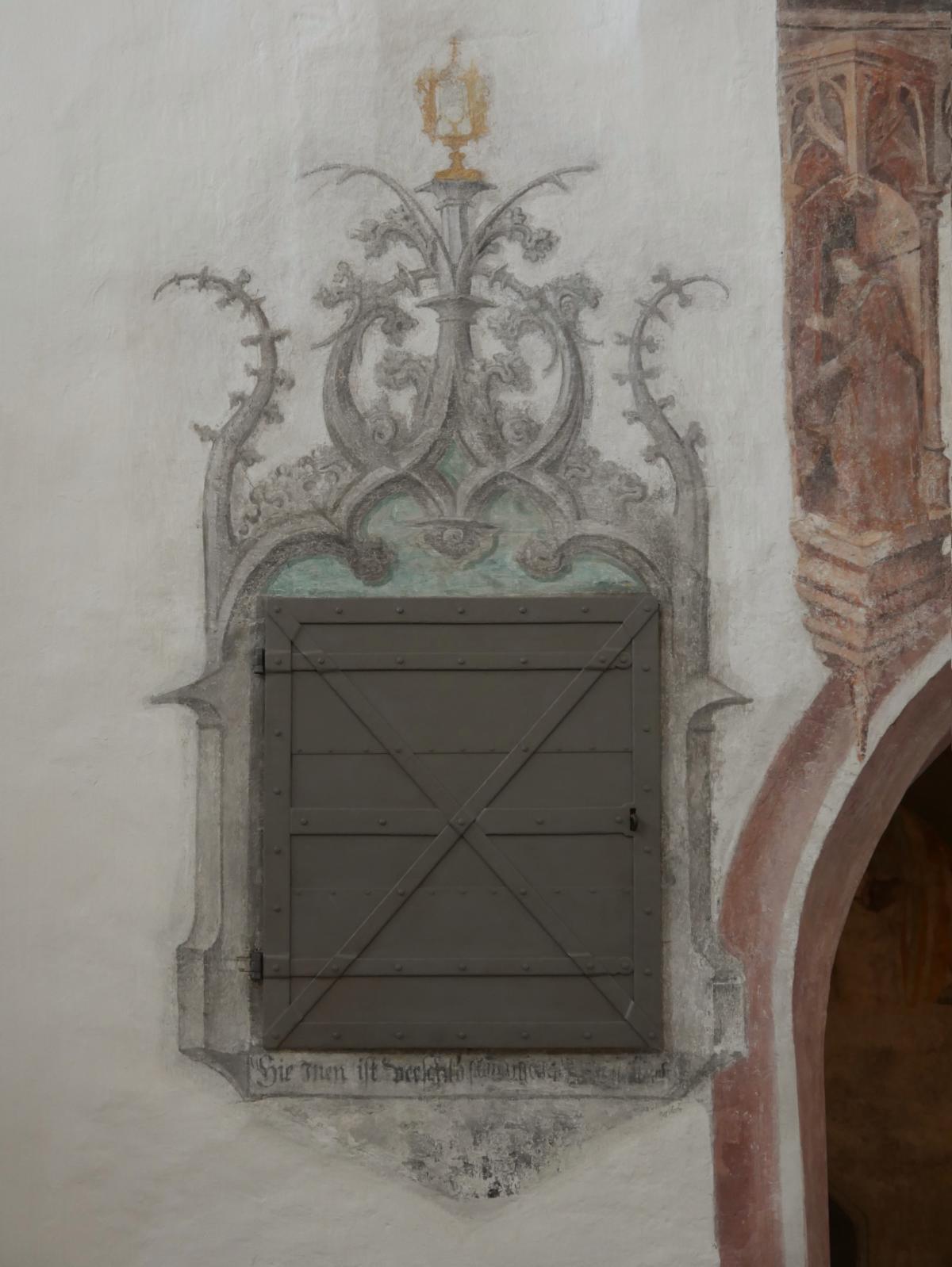 Hl. Geist Tür Sakramentsnische