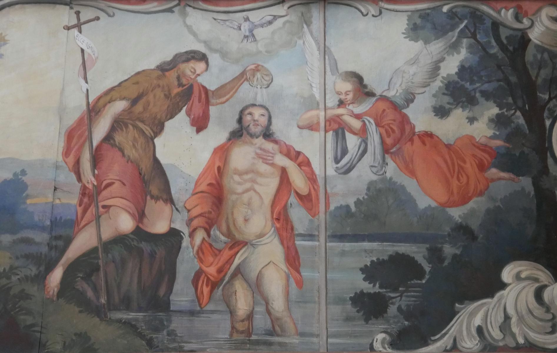 Hl. Geist Taufe Christi
