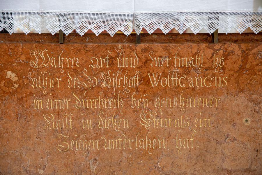 Schlupfstein von Sankt Wolfgang