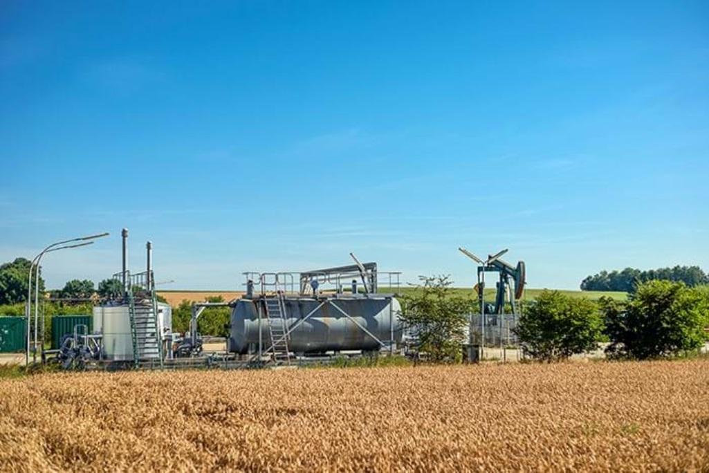Erdölförderung in Prittlbach