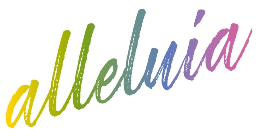 Schriftzug_alleluja