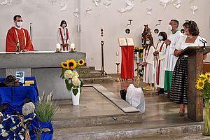 Laudatio seitens der Stadtteilkirche