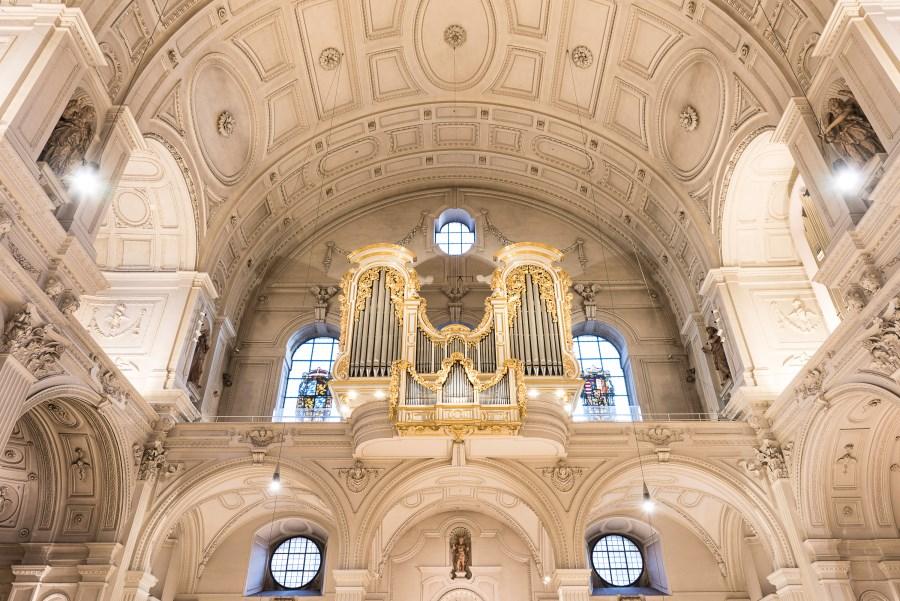 Michaelsorgel in der Jesuitenkirche St. Michael in München