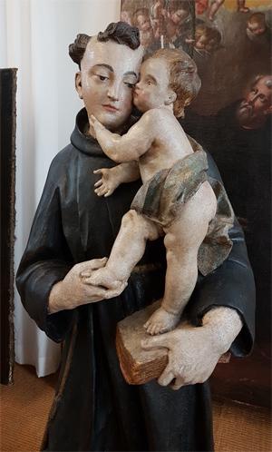 Skulptur Hl. Antonius