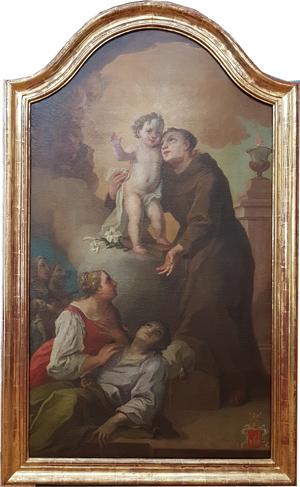 Gemälde Hl. Antonius