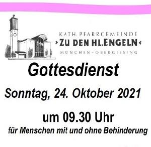 Zuschnitt Plakat 24.10.2021 Gottesdient Pfr. zu den heiligen Engeln