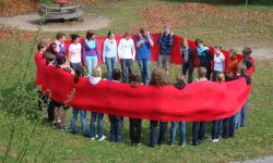 Gruppenfoto von Jugendlichen auf einer KISKO-Veranstaltung
