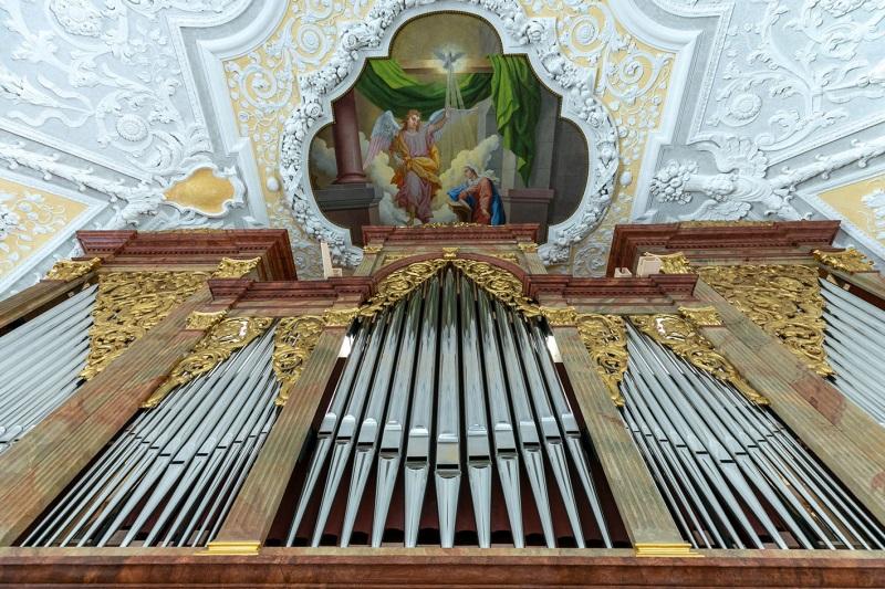 Neue Haupt-Orgel St. Oswald