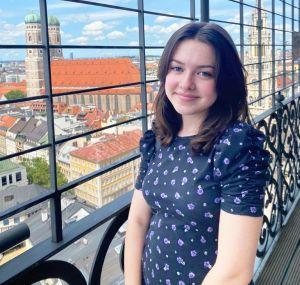 Schülerin Anne-Sophie Hasel