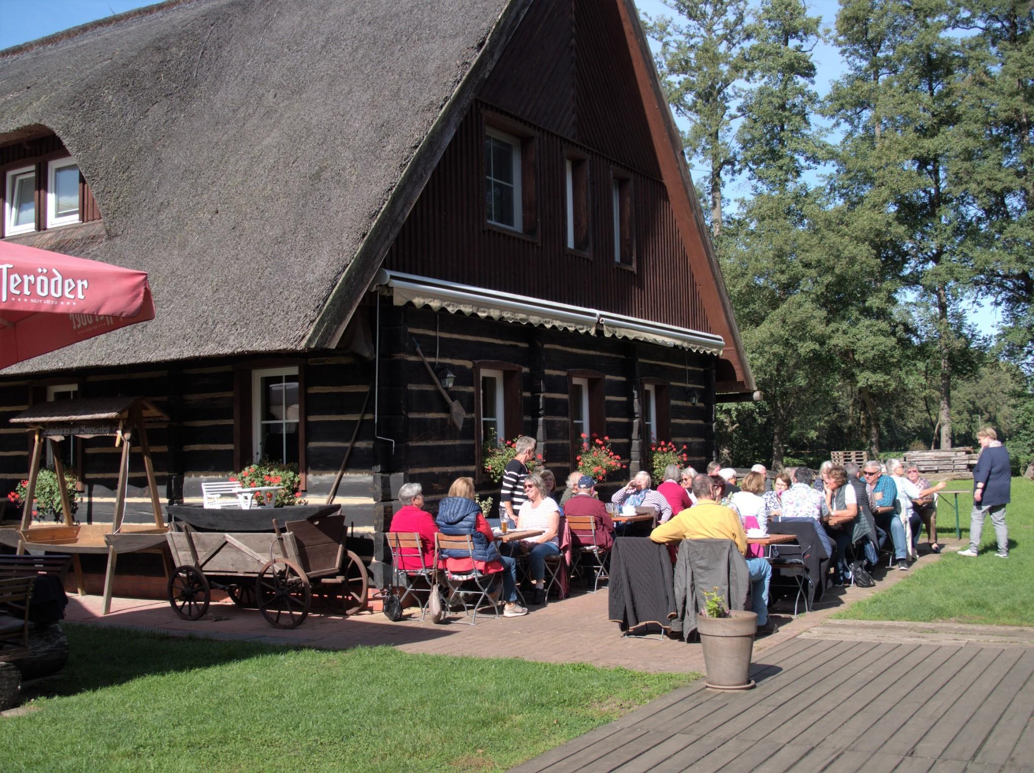 Mittagspause in Burg
