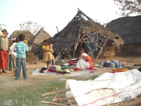 unbeschreibliche Armut in Indien