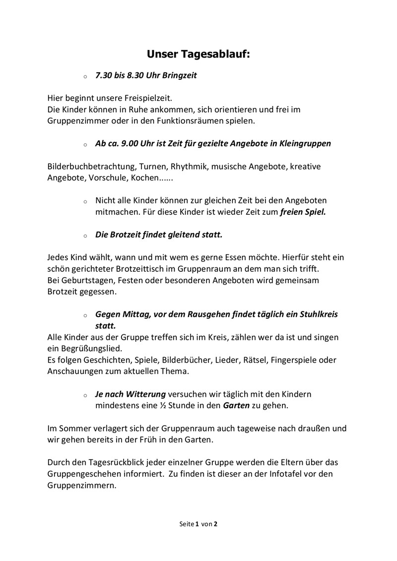 Kath Kindergarten Schnaitsee