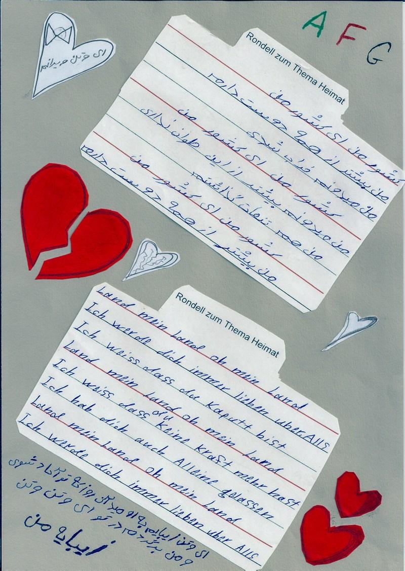 K Liedl Gedichte Flüchtlinge Lenggries