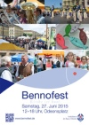 Bennofest 2015 Plakat